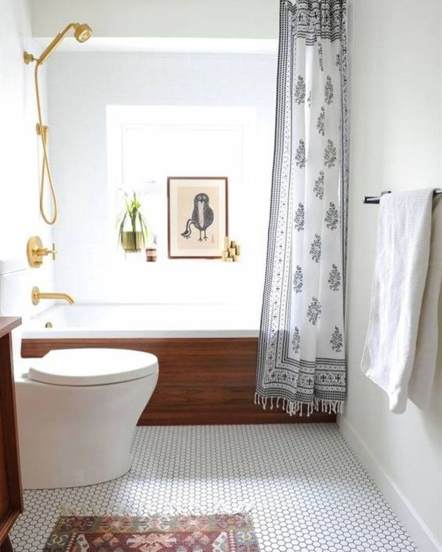Bathroom Design Ideas With Tube and Shower