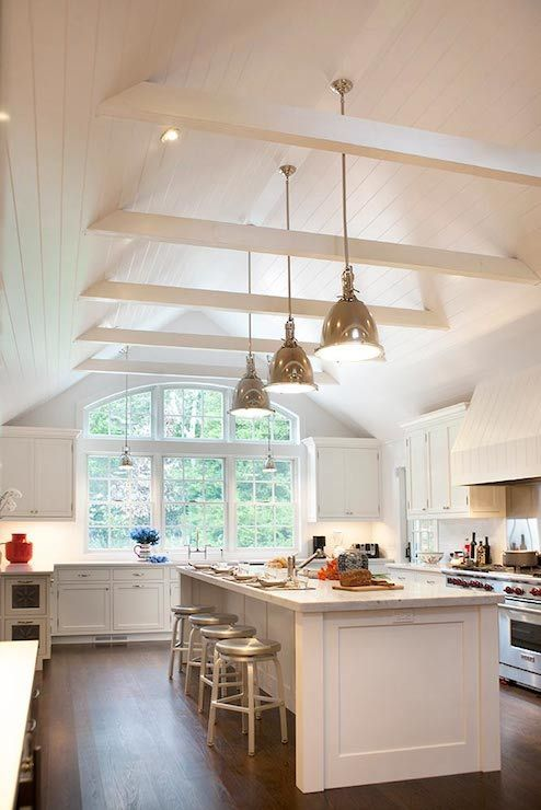 Kitchen Lighting Ideas Cathedral Ceiling